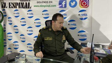 Photo of EN EXCLUSIVO, HABLA EL NUEVO COMANDANTE DEL DISTRITO 1 DE POLICÍA EL ESPINAL, SOBRE LOS ÚLTIMOS HECHOS OCURRIDOS EL FIN DE SEMANA
